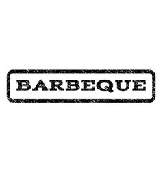 Barbeque watermark stamp vector