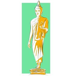 Buddha Statue vector image vector image