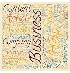 Business Articles Can Help You Grow Your Company vector image