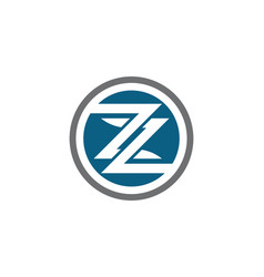 Business corporate z letter logo vector