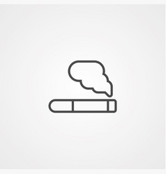 cigarette icon sign symbol vector image