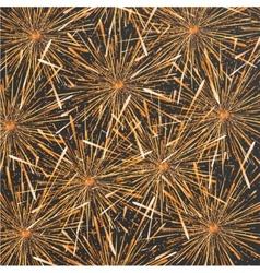 Modern fireworks background design vector
