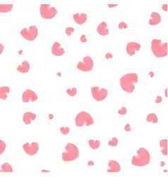 pink rose petals vector image