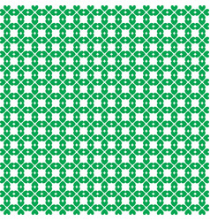 saint patricks day seamless wallpaper with clover vector image