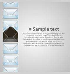 Vertical background writing vector