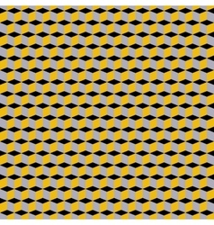 Cubes geometric pattern vector