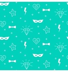 Baby pattern design nursery kid background vector