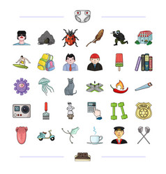 tourism medicine history and other web icon in vector image vector image