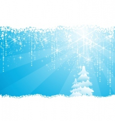 Christmas grunge background vector image vector image
