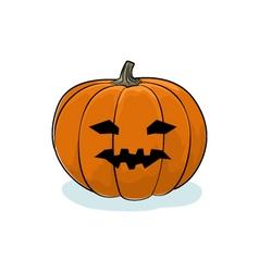 Halloween Vicious Pumpkin vector image vector image