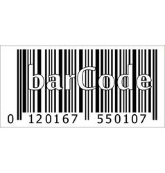 barcode product vector image