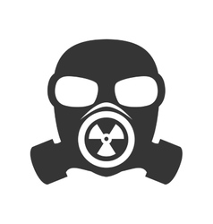 Gas mask nuclear vector