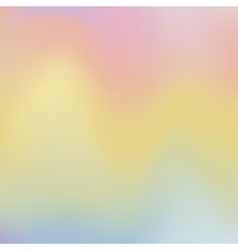 Holographic trendy background vector