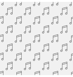 Music notes pattern vector