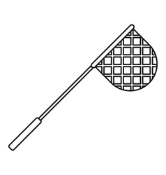 Net for fishing icon outline style vector