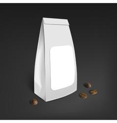 Mockup Blank Foil Coffee vector image