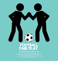 Fair Play Sport Sign vector image vector image