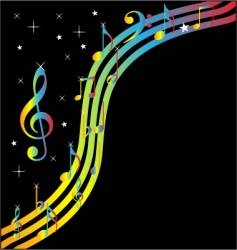 music banner vector image