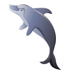 Dolphin isolated vector