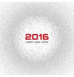 Gray - White Light New Year 2016 Snow Flake vector