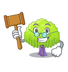 Judge willow tree branch for frame cartoon vector