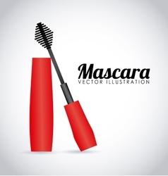 mascara icon design vector image