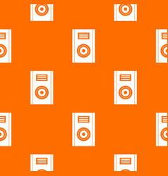 music speaker pattern seamless vector image