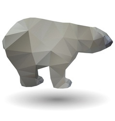 Polar bear icon vector image