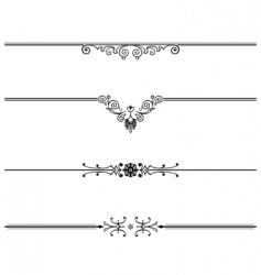elegant vector design element vector image vector image