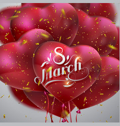 8 march international women day vector image vector image