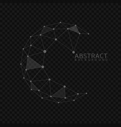 Abstract globe shape vector