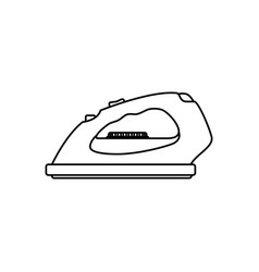 clothes iron electric household appliances vector image
