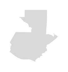 guatemala america central map guatemala vector image