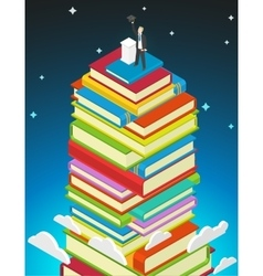 Success Education concept vector image