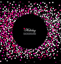 Holiday greeting with colorful vector