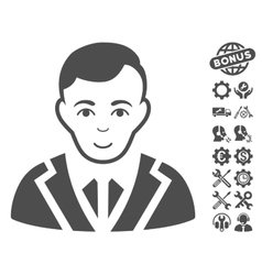 Noble Icon With Tools Bonus vector