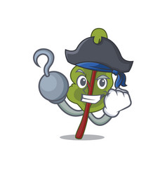 Pirate chard character cartoon style vector