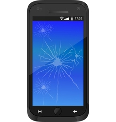 REAL SMARTPHONE 2 vector image