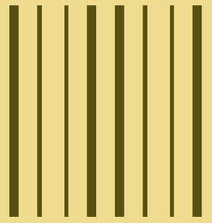 vertical brown and beige stripes print vector image