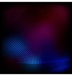 blend lines purple mesh vector image vector image