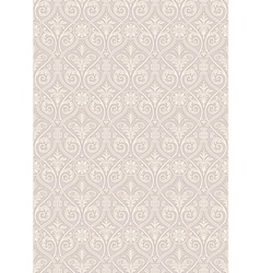 Seamless Gothic Damask Pattern vector image