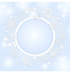 background for the Christmas text vector image