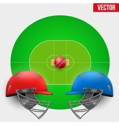 Background of Cricket competition vector image