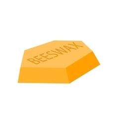 Beeswax cartoon icon vector image