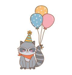 Cute little animal cartoon vector