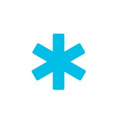 Hospital ems flat icon vector