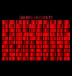 red gradient set red christmas gradients vector image