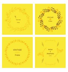 Set of retro vintage badges and label logo vector