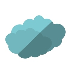 Travel cloud weather concept shadow vector