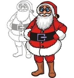 Christmas Set - vinyl-redy vector image